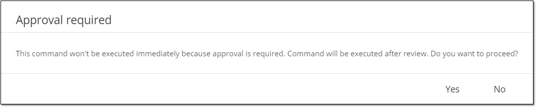 Approval Required Notification